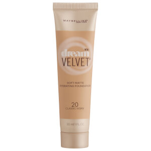 Maybelline Dream Velvet Soft-Matte Hydrating Foundation #20 Classic Ivory 30ml