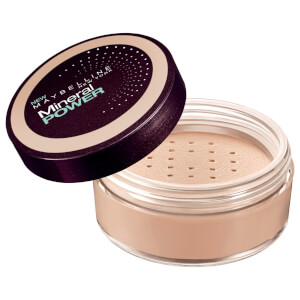 Maybelline Mineral Power Powder Foundation With Kabuki Brush #40 Nude 8g
