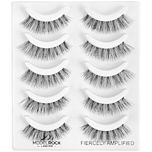 ModelRock Fiercely Amplified Lash Pack - 5 Pairs
