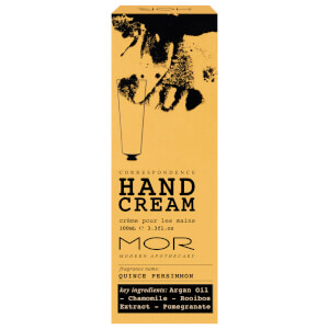 MOR Correspondence Hand Cream - Quince Persimmon 100ml