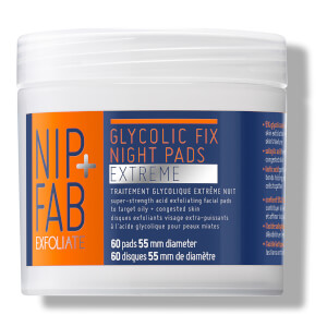 NIP + FAB Glycolic Fix Extreme Night Pads - 60 Pads
