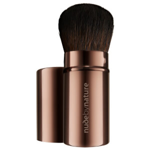 nude by nature Retractable Travel Brush