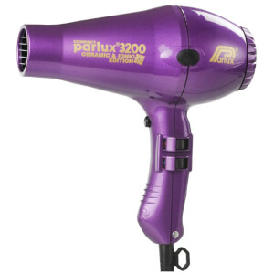 Parlux 3200 Compact Ceramic & Ionic Hair Dryer 1900W - Purple