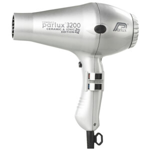 Parlux 3200 Compact Ceramic & Ionic Hair Dryer 1900W - Silver