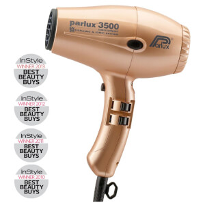Parlux 3500 Ceramic and Ionic Dryer 2000W - Gold