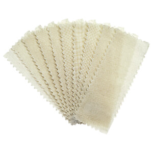 Satin Smooth Natural Muslin Epilating Strips Small