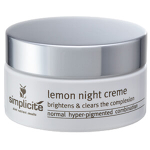 Simplicite Lemon Night Crème 55g