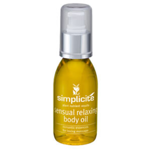 Simplicite Sensual Relaxing Body Oil 100ml