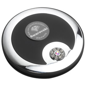 Taylor Madison Compact Mirror - Black Velvet