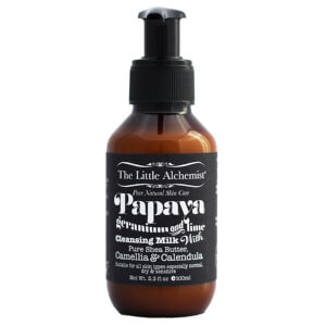 The Little Alchemist Papaya Geranium And Lime Cleansing Milk 100ml