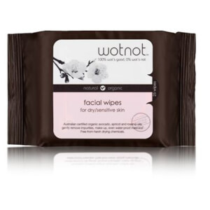 wotnot Facial Wipes For Dry/Sensitive Skin - 25 Wipes