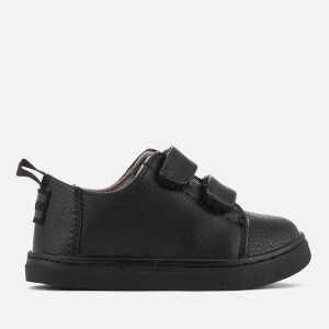 TOMS Toddlers' Lenny Double Velcro Trainers - Black