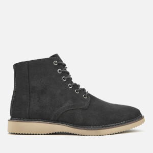 TOMS Men's Porter Suede Lace Up Boots - Forged Iron Grey