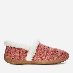 TOMS Women's Full Slippers - Faded Rose Woollen