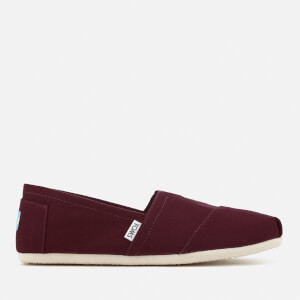 TOMS Men's Core Classics Slip-On Pumps - Mahogany