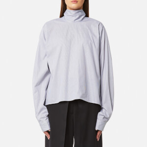 MM6 Maison Margiela Women's Poplin Fancy Shirting - White Black Check