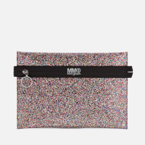 MM6 Maison Margiela Women's Glitter Clutch Bag - Multi