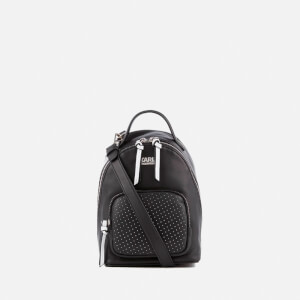Karl Lagerfeld The Photographer Super Mini Backpack - Black