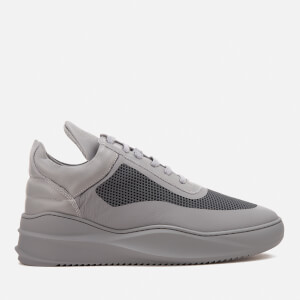Filling Pieces Men's Sky Seamless Low Top Trainers - Dark Grey