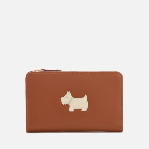 Radley Women's Heritage Dog Medium Ziptop Purse - Tan