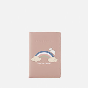 Radley Women's Rainbow Passport Cover - Dusty Rose