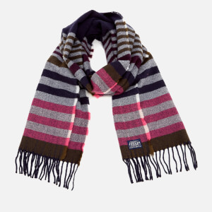 Joules Women's Bracken Soft Scarf - French Navy Stripe