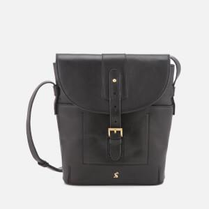 Joules Women's Tourer Leather Cross Body Bag - Black