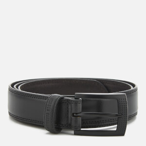 Ben Sherman Men's Leather Holloway Belt - Black