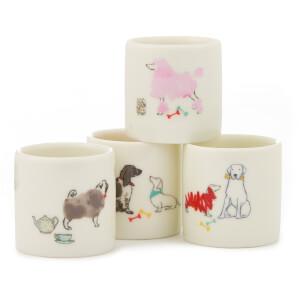 Joules Egg Cup Set - Par-Tea Dogs