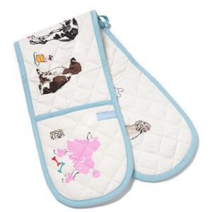 Joules Double Oven Glove - Par-Tea Dogs
