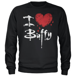 Buffy The Vampire Slayer I Heart Buffy Sweatshirt