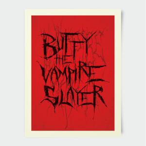 Buffy The Vampire Slayer Stylised 30x40cm Print