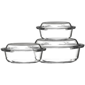 Premier Housewares Casserole Dishes (Set of 3)