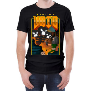 T-Shirt Homme Xisuma DoomVoid II Wither On Earth -Noir