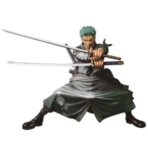 Statuette Big Zoukeio Roronoa Zoro One Piece SCultures - Version Brillante et Colorée