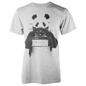 Balazs Solti Bad Panda White T-Shirt