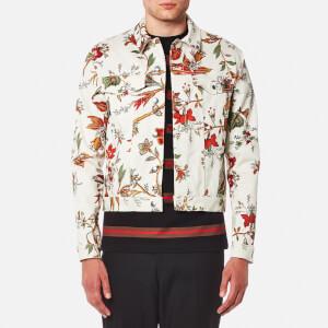 McQ Alexander McQueen Men's Billy Floral Jacket - Parchment