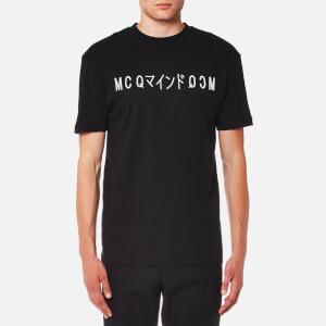 McQ Alexander McQueen Men's Katsumi Logo T-Shirt - Darkest Black