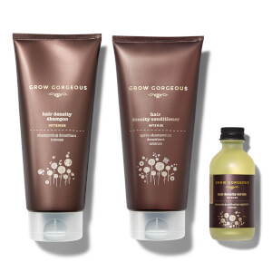 Grow Gorgeous Hair Density Serum Intense, Density Shampoo Intense and Hyaluronic Density Conditioner (Worth $97)