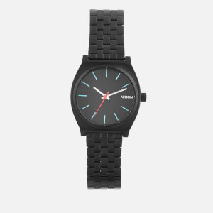 Nixon Men's The Time Teller Watch - Black/Silver/Lum