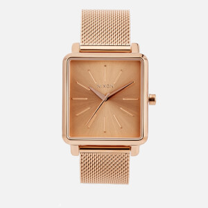 Nixon Women's The K Squared Milanese Watch - Rose Gold