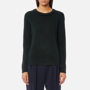 A.P.C. Women's Ruffle Jumper - Pine Green
