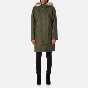 A.P.C. Women's Gloria Parka - Dark Green