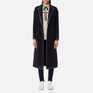 A.P.C. Women's Violette Coat - Dark Navy