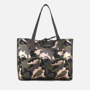 Guess Women's Bobbi Inside Out Tote Bag - Camo Grey