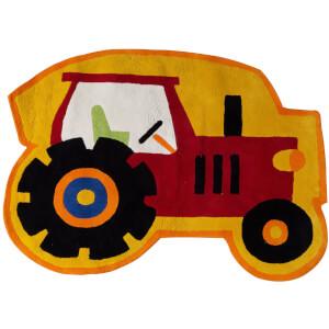 Premier Housewares Kids Tractor Rug