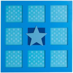 Premier Housewares Kids Star Wall Photo Frame - Multi