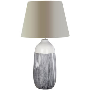 Fifty Five South Welma Table Lamp - Grey