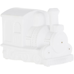 Premier Housewares Kids Train Night Light - White