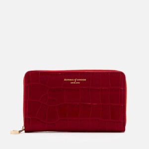 Aspinal of London Women's Continental Midi Purse - Red